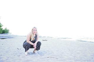 Senior Beach Photos | Manitowoc Senior Photographer