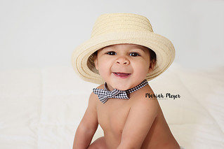 Bow ties are cool! | 6 Month Milestone | Manitowoc Childrens Photographer
