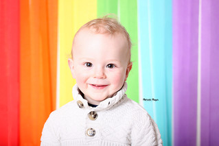 Colorful fun! | Fun Backdrops! | Manitowoc Childrens Photographer