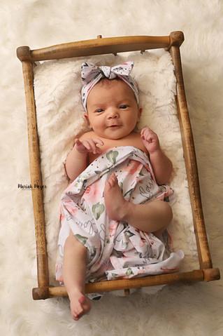 Newborn smiles!   Manitowoc Newborn Photographer