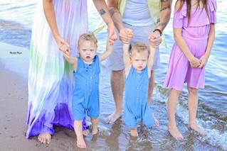 Beach Babies! | Manitowoc Family Photographer
