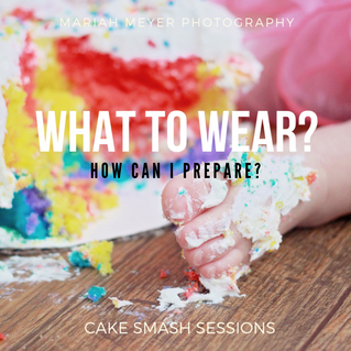 Preparing For Your Cake Smash Session
