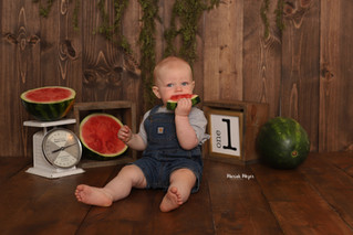 ONE in a Melon! | Manitowoc Childrens Photographer