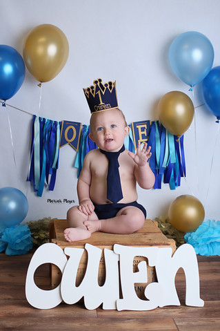 Owen Turns One! | Manitowoc Childrens Photographer