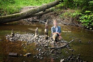 Buchko Family Session   Creek Adventures Continue