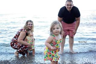 Family Beach Session // Manitowoc Family Photographer