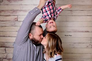 Family Smiles | Studio Photos | Manitowoc Family Photographer
