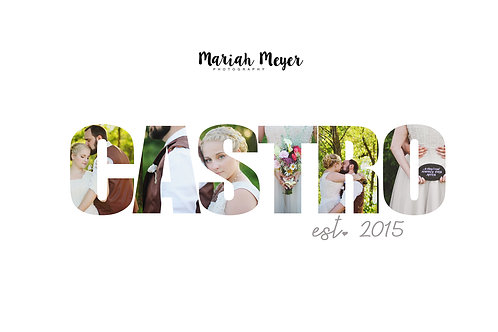 Last Name Collage