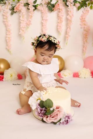 Frist birthday fun! | Manitowoc Childrens Photographer