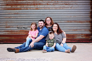 Downtown Family Session | Manitowoc Family Photographer