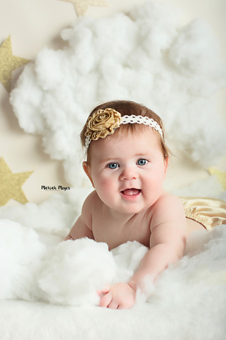 Six Month Smiles! | Manitowoc Childrens Photography
