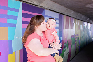 Mommy and Me Mini - So much color! | Manitowoc Childrens Photographer