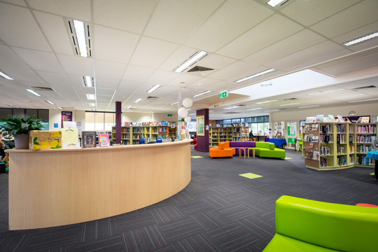 Brigidine College Library Service Counter