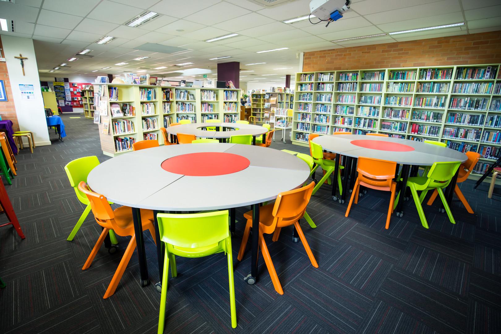 Brigidine College Library Flexible Learning Area