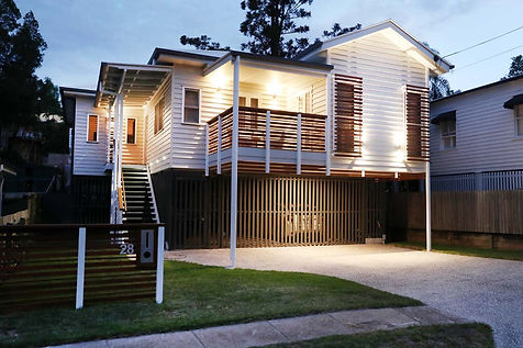 Queenslander Architecture Red Hill Brisbane Character Design