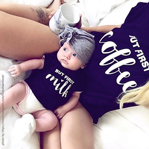 """BUT FIRST... // T-Shirts // Mama-Kind-Set"