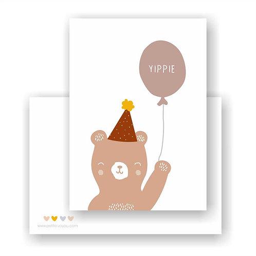YIPPIE // Postkarte