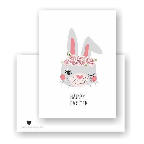 HAPPY EASTER // Postkarte