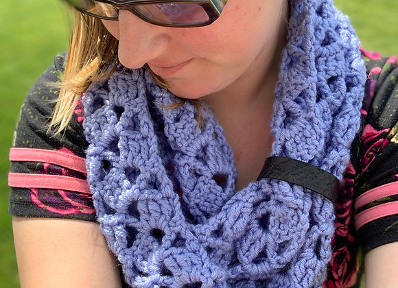 Time Warp Lace Infinity Scarf