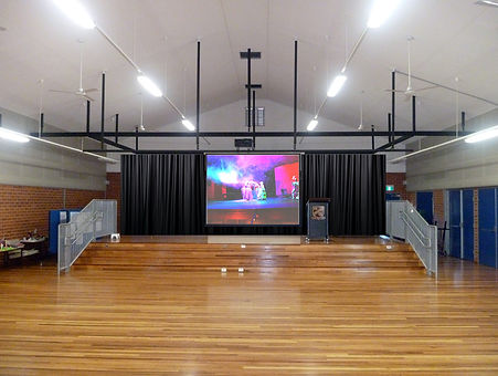Edited Hall with Curtain & Projector_201