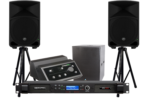 Ultimate Powered Speakers &Sub AmplifierParty Pack