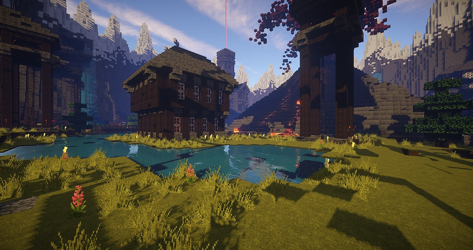Minecraft Lake
