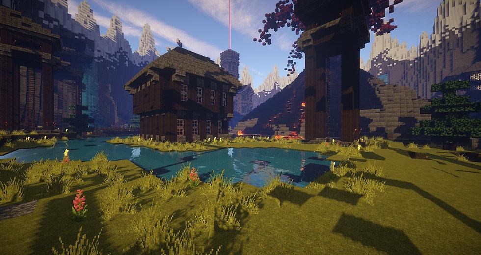 Minecraftの湖