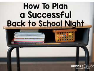 How To Plan a Successful Back to School Night