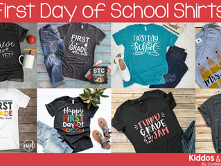 18 Cute First Day of School Shirts for Teachers
