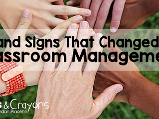 6 Hand Signs That Changed My Classroom Management