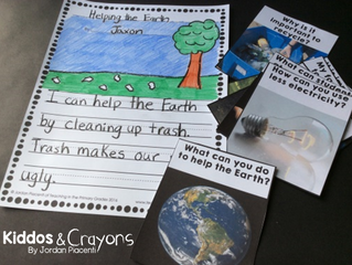 Free Earth Day Writing Activity