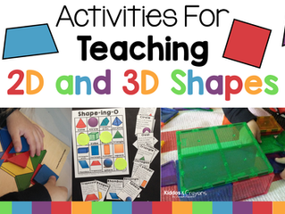 Activities for Teaching 2D and 3D Shapes