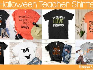 8 Cute Teacher Halloween Shirts