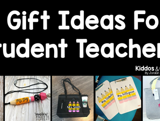 11 Gift Ideas for Student Teachers