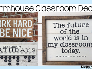8 Accents to Decorate Your Rustic Farmhouse Themed Classroom