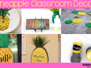 10 Decor Accents for Your Pineapple Themed Classroom