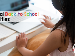 6 Virtual Back to School Activities