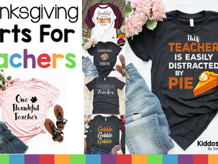 10 Thanksgiving Shirts for Thankful Teachers