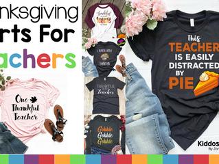 10 Thanksgiving Shirts for Thankful Teachers