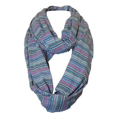 SHEBA - Multi-color Infinity Scarf (women's)