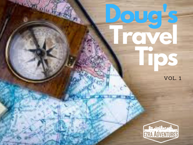Doug's Top 4 Travel Necessities