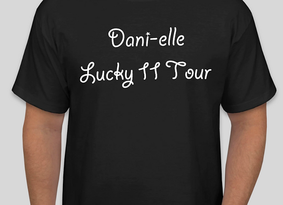 """Lucky 11 Tour"" T-Shirt - Style 1"