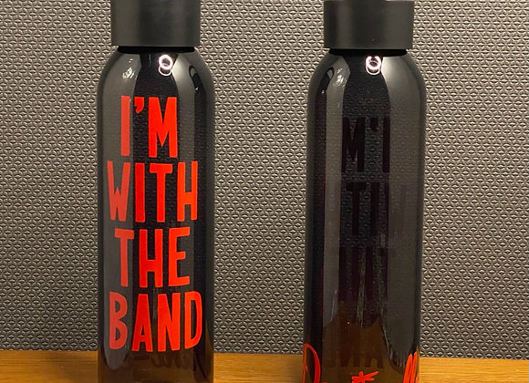 """I'm With the Band"" Water Bottle"