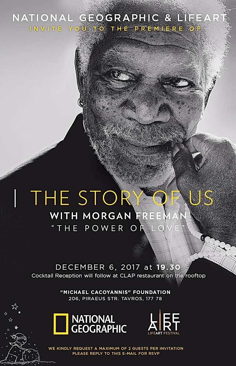 National Geographic and LifeArt Festival, the story of us with Morgan Freeman.JPG