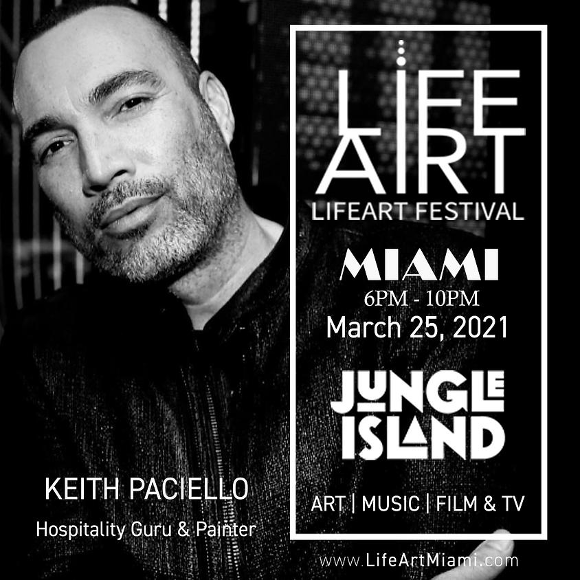 LifeArt, Jordi Molla &  Keith Paciello present a multimedia art experience
