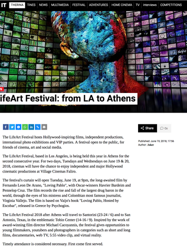 LifeArt Athens 2018