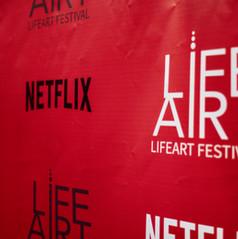 LifeArt Festival, Netflix, Premiere - To