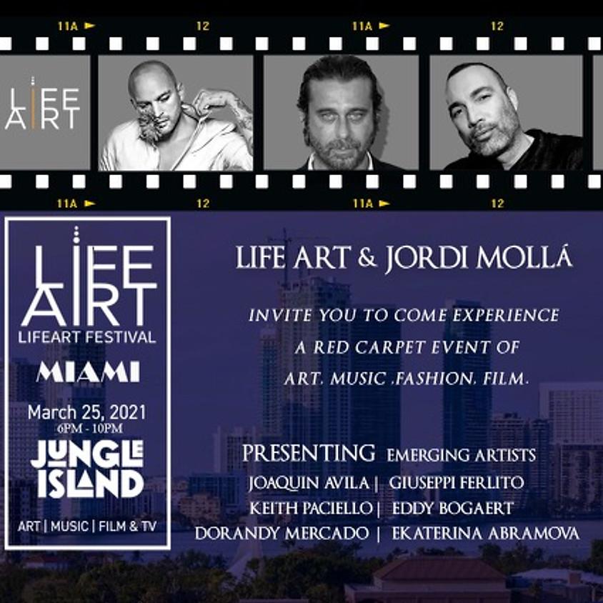LifeArt & Jordi Molla present a multimedia art experience