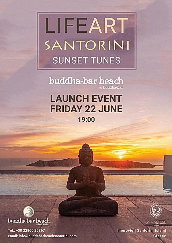 LifeArt Santorini, Buddha-bar