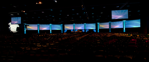 San Diego Convention center MorVisual MV